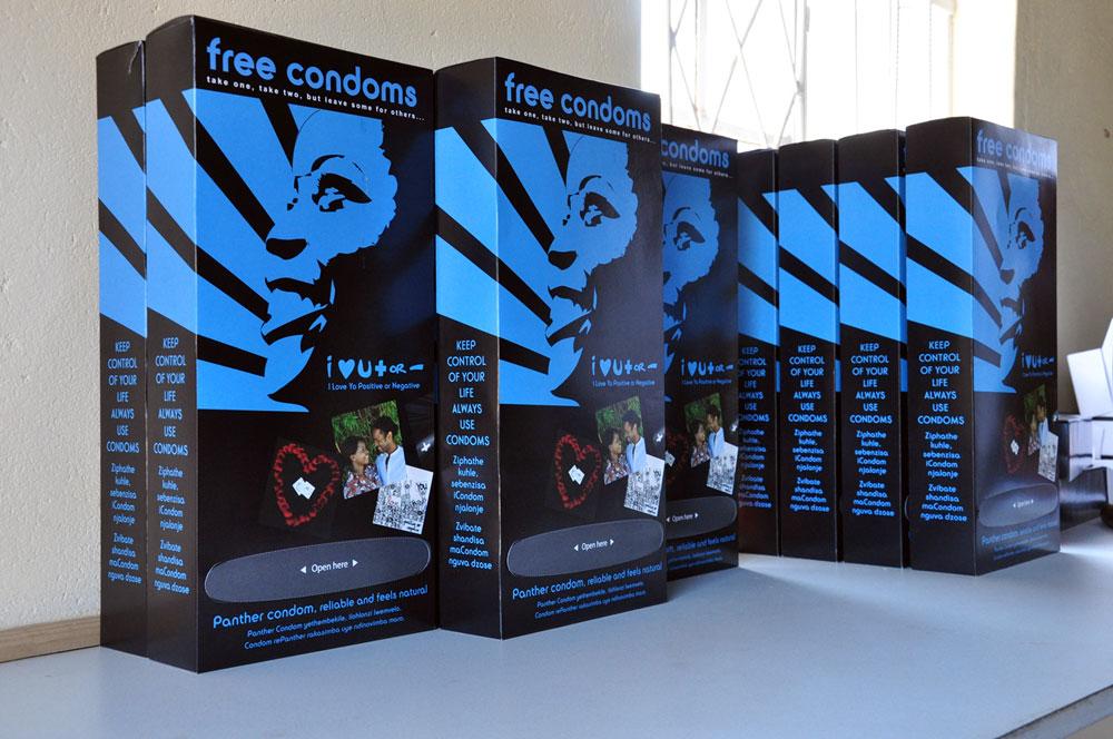 Boite distributrices de préservatifs aux emballages attractifs