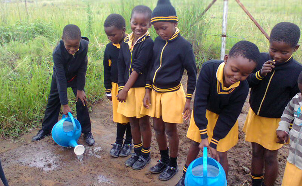 Children from the center Siletithemba - South Africa